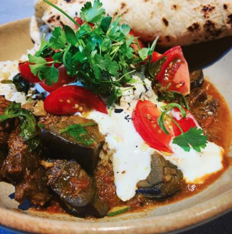 Beef Vindaloo with Fragrant Rice Pilaf