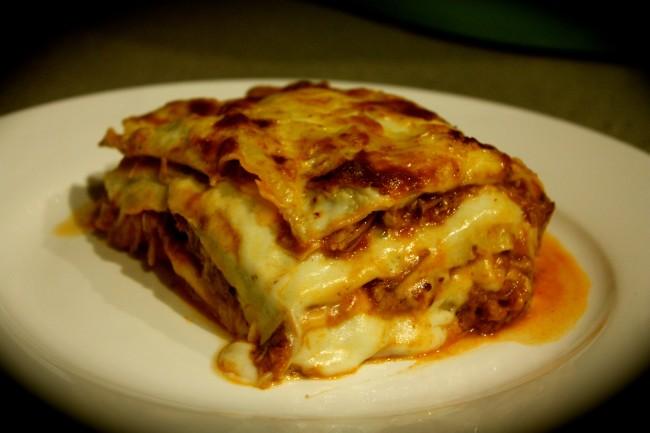 Pulled Pork, Pancetta & Sage Lasagne