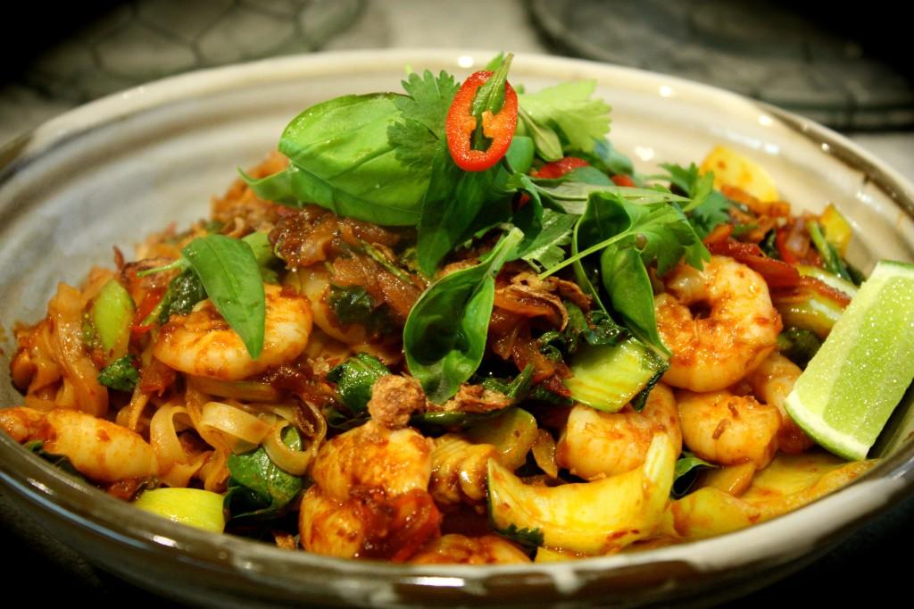 Chilli Jam Prawn & Noodle Stir Fry