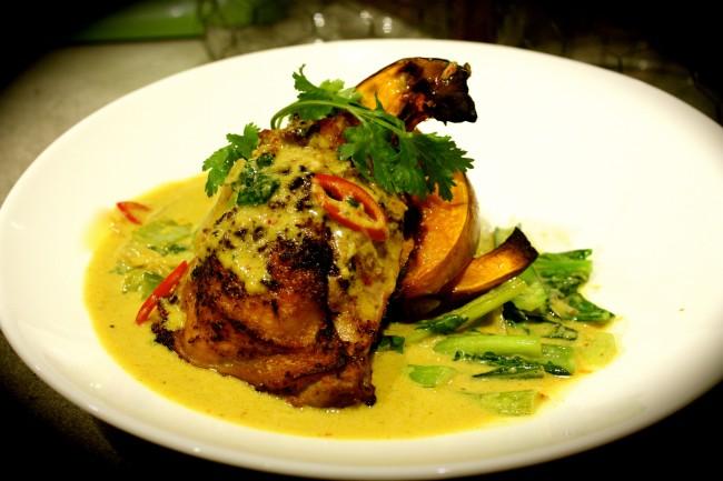 Roast Chicken & Pumpkin Penang Curry