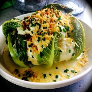 Whole Cauliflower Au Gratin