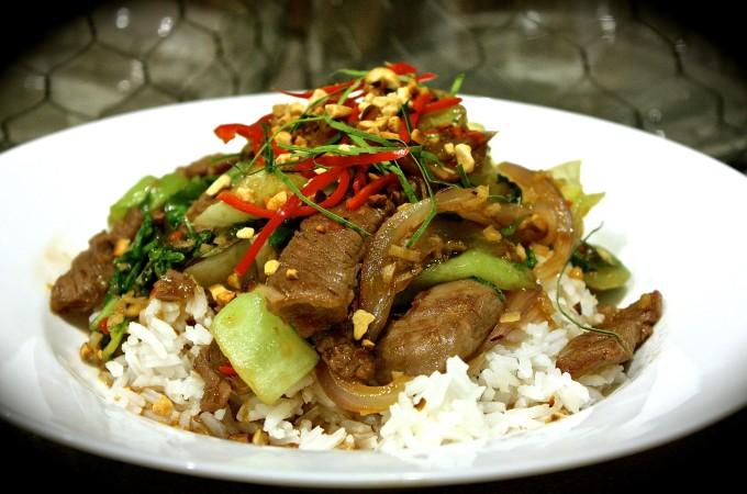 Thai Basil & Beef Stir Fry