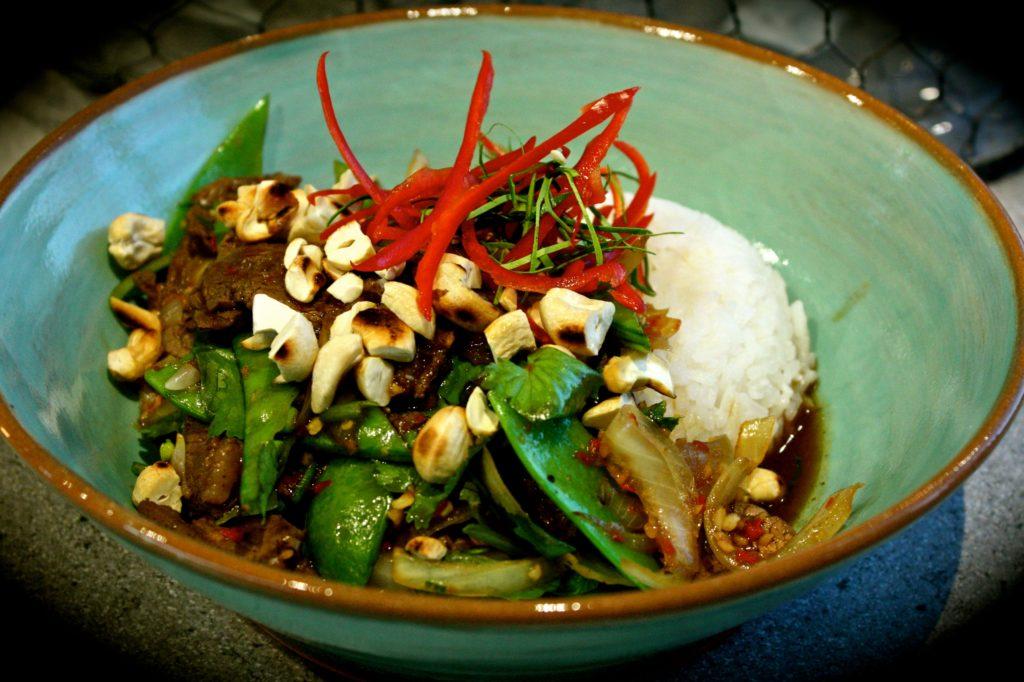 Thai Basil, Beef & Cashew Stir Fry