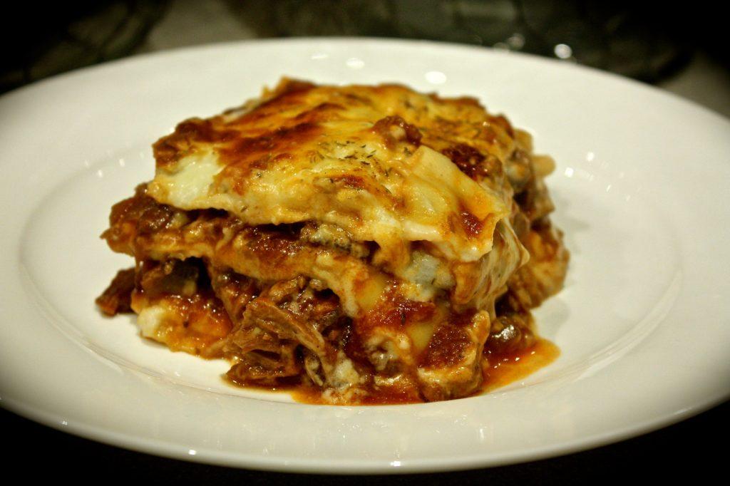 Beef Brisket & Porcini Lasagne