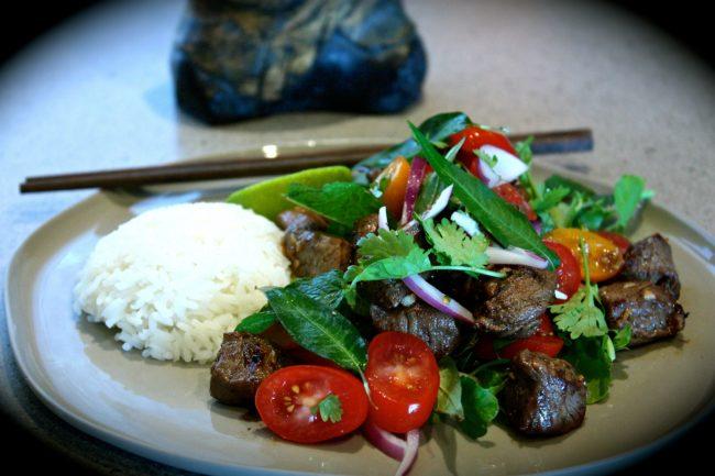 Vietnamese 'Shaking' Beef