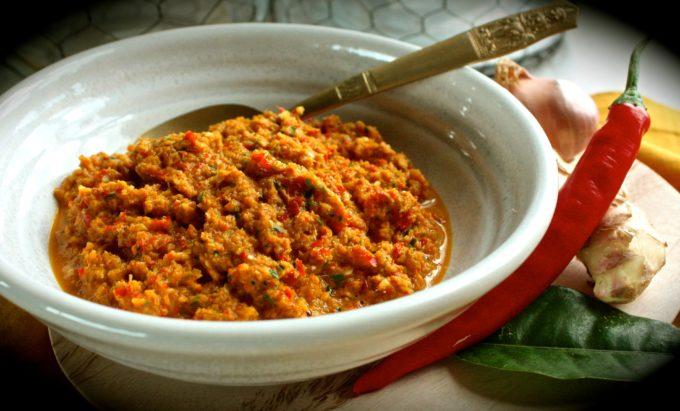 Thai Yellow Curry Paste