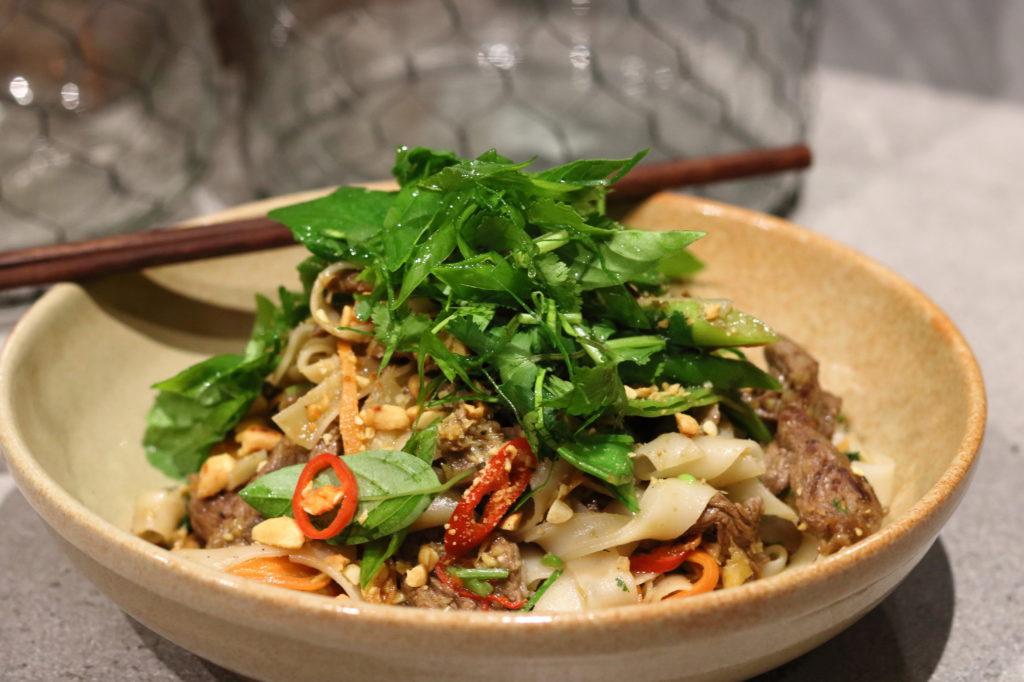Lemongrass Beef & Noodle Stir Fry