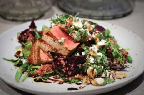 Warm Lamb, Quinoa & Roasted Beetroot Salad