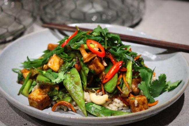 Soy & Ginger Tofu Stir Fry
