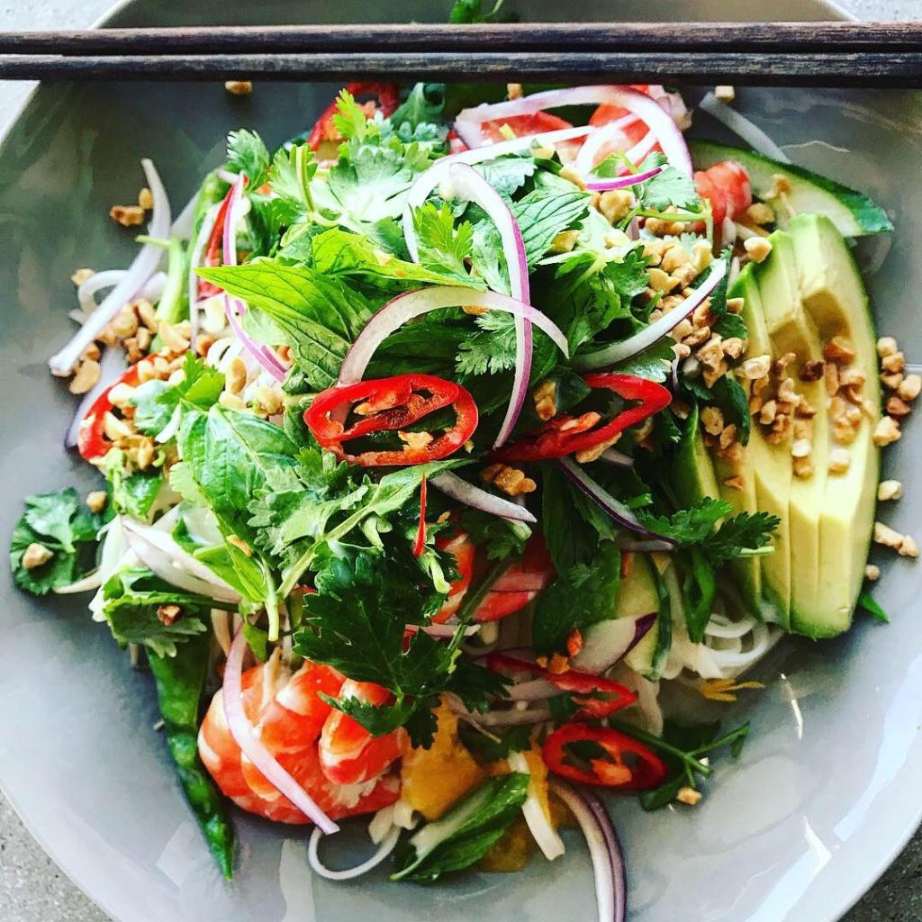 Thai Prawn, Mango & Avocado Salad