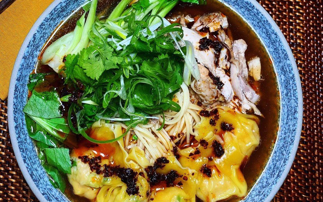 Chicken, Wonton & Noodle Soup