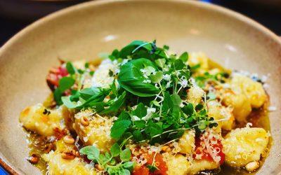 Potato Gnocchi with Blistered Tomato Sauce
